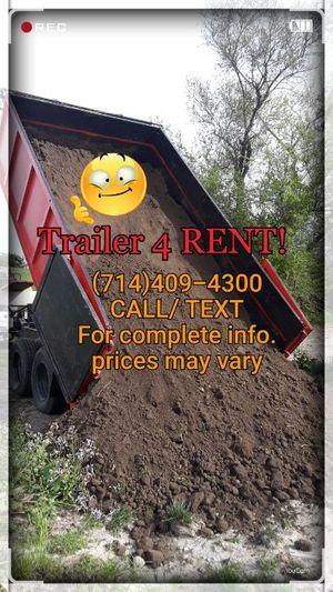Trailer dump for Sale in Hesperia, CA