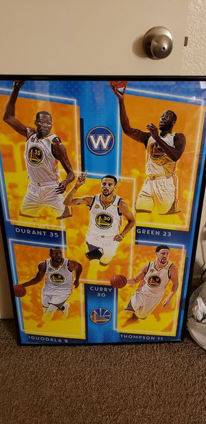 Golden State Warriors posters framed for Sale in Fresno, CA