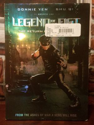 Legend of the Fist The Return of Chen Zhen Martial Arts DVD Karate Movie for Sale in Tampa, FL
