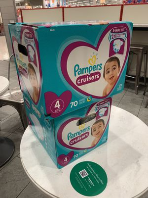 Pampers cruisers size 4 for Sale in Temecula, CA