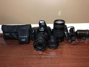 CANON EOS 60D with accessories for Sale in Manassas Park, VA