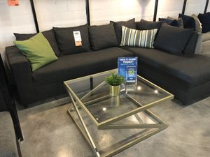 Charcoal Grey Sectional Sofa 💥💥💥ON SALE ONLY $360💥💥💥 for Sale in Hialeah, FL