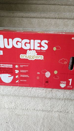 Huggies Snugglers Size 1 / 198 count for Sale in UPR MARLBORO, MD