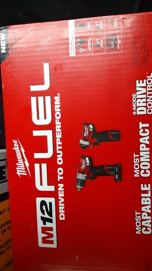 Milwaukee m12 fuel impact and hammer drill for Sale in Philadelphia, PA