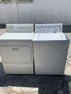 Weekly Special -Kenmore washer and gas dryer in excellent working condition!!!$350 for BOTH for Sale in Lynwood, CA