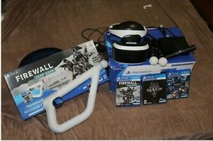 Psvr with aim controler and firewall game for Sale in Tacoma, WA