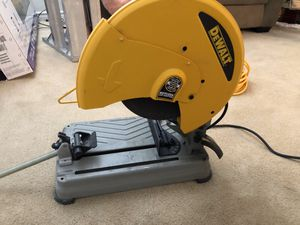 DEWALT 15 Amp 14 in. Cut-off Saw Chopsaw for Sale in Las Vegas, NV