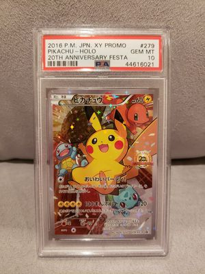 Pokemon 20th Anniversary Pikachu Battle Festa PSA 10 for Sale in Brea, CA
