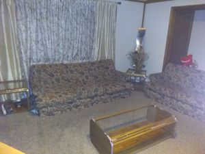 Sofa and loveseat and 3 tables for Sale in Marshalltown, IA