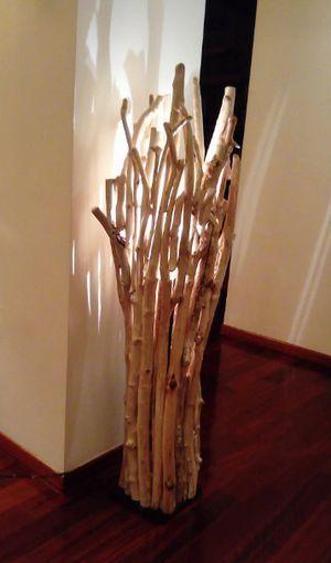 Driftwood floor lamp for Sale in Mount Juliet, TN