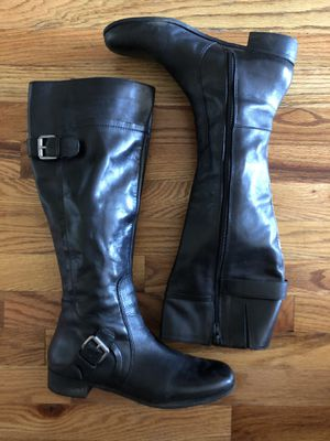 Nine West Vintage America Women Long Leather Boots size 8.5 for Sale in Queens, NY