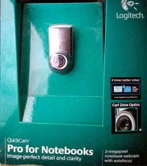 Logitech QuickCam Pro For Notebooks 2-Megapixel Notebook Webcam w/AutoFocus for Sale in Lambsburg, VA