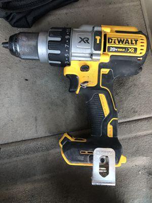 Dewalt 20v (1/2) 3 Speed Xr Brushless Hammer • DCD996• USED • for Sale in Worth, IL