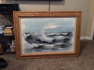 Sea scape oil painting for Sale in Akron, OH
