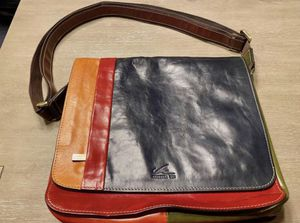 Messenger Bag - Genuine Italian Leather for Sale in Whittier, CA