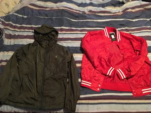 Both for 30$ ralph lauren hoodie and red varsity jacket for Sale in Detroit, MI