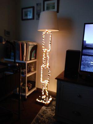 Unique metal floor lamp. for Sale in St. Petersburg, FL