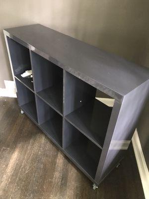 Grey Laminate Shelving Unit for Sale in Atlanta, GA