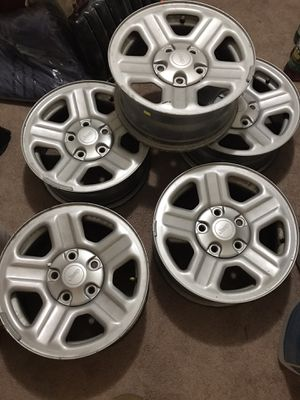 Jeep Wrangler Wheels ! for Sale in Danbury, CT