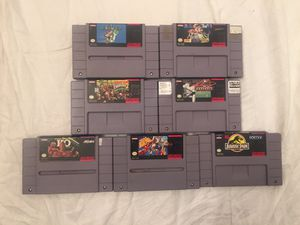 Super Nintendo Games, 7 games for Sale in Battle Ground, WA