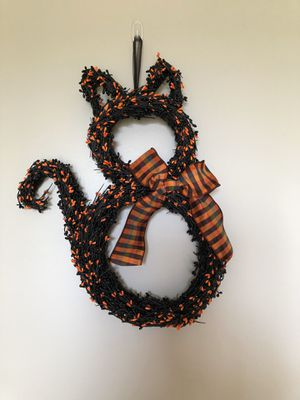 Cat wreath for Sale in East Moline, IL