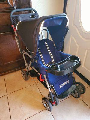 Joovy Caboose Ultralight Sit and Stand Double Stroller With Infant Car Seat Adapter for Sale in Pasadena, TX