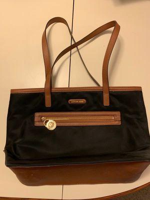 Michael Kors Small Tote Bag, Black & Brown for Sale in Bloomingdale, IL