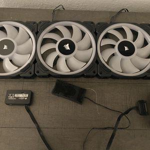 Corsair LL140 Fans (x3) for Sale in Miami, FL
