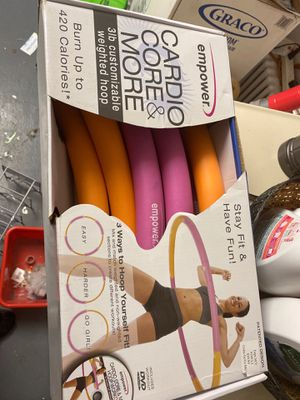 weighted hula hoop workout for Sale in Queens, NY