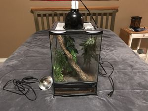 Terrarium Cage and accessories for Sale in Washougal, WA
