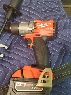 Brand New Milwaukee Hammer Drill And Battery for Sale in San Lorenzo,  CA