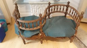 Antique courting chair for Sale in Germantown, MD