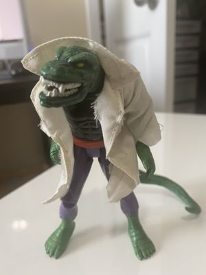 """RARE THE LIZARD 5"""" FIGURE 1994 MARVEL TOYBIZ SPIDER-MAN THE ANIMATED SERIES TOY for Sale in Fayetteville, NC"""