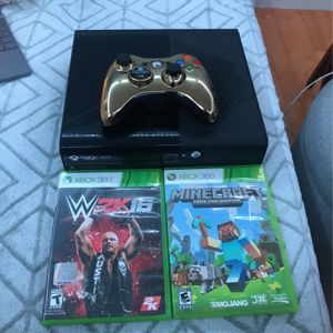 Xbox 360 With 3 Games for Sale in Manchester, NH