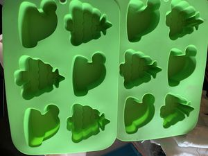 Christmas molds new never used for Sale in Fresno, CA