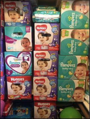 Diapers and more! for Sale in Spring, TX