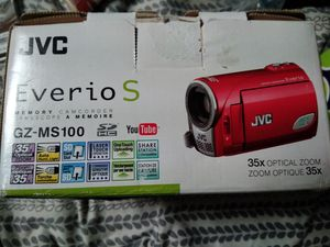 Jvc camcorder for Sale in Farmville, VA