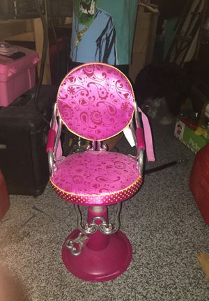American girl doll hair style chair for Sale in Port St. Lucie, FL