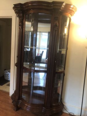 Solid very heavy Cherrywood hutch for Sale in Edgewood, WA