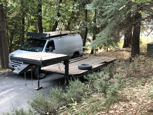 Fifth wheel flat bed trailer for Sale in Sacramento, CA