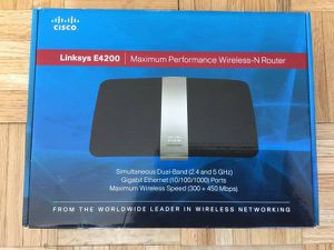 Cisco Linksys the 4200 wireless N Router for Sale in New York, NY