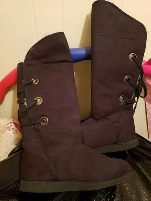 Faux Fur Lined Boots - Women's Size 11w *ITEM STILL AVAILABLE* for Sale in Philadelphia, PA
