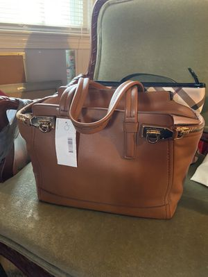 Brand New Authentic Salvatore Ferragamo Leather Handbag for Sale in Annandale, VA