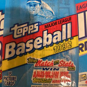 Topps Gold 1992 Baseball Cards Unopened Deck for Sale in Woodinville, WA