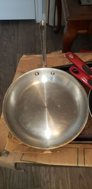 "All Clad 12"" fry pan used for Sale in Austin, TX"