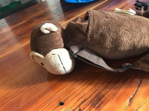 Travel harness monkey backpack