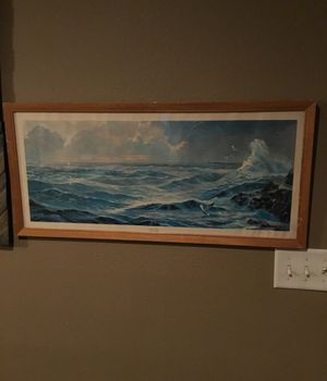 1963 Lithograph Land's End by James Mitchell for Sale in Trumann, AR