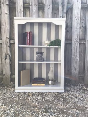 White bookcase for Sale in Brick Township, NJ