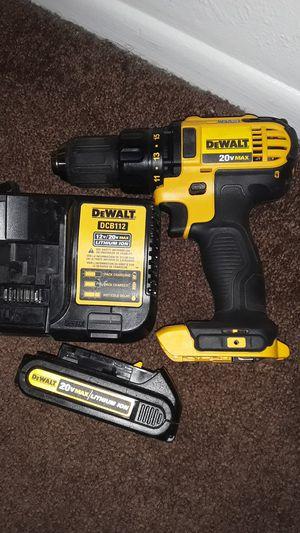 Dewalt 20v max cordless drill driver for Sale in Palmdale, CA