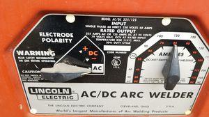 Lincoln ac DC 225 / 125 welder for Sale in El Monte, CA
